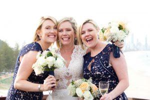 Amanda + Gavin Married xx North Burleigh beach wedding  22
