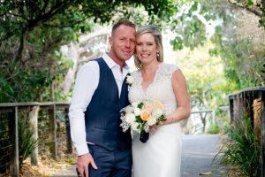 Amanda + Gavin Married xx North Burleigh beach wedding  25