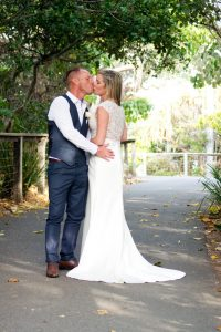 Amanda + Gavin Married xx North Burleigh beach wedding  26