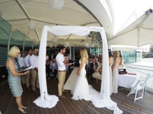 Candice + Daniel Married xx Oskars on Burleigh  48