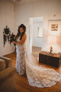Melanie & Cameron - Married xx Gold Coast Farm House, Numinbah Valley  198