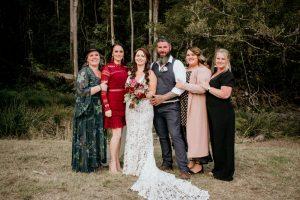 Melanie & Cameron - Married xx Gold Coast Farm House, Numinbah Valley  18