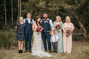 Melanie & Cameron - Married xx Gold Coast Farm House, Numinbah Valley  20