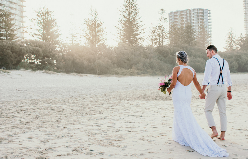 Courtney & Hayden Married xx Burleigh Heads beach- Gold Coast xx  171
