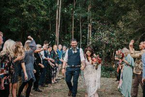 Melanie & Cameron - Married xx Gold Coast Farm House, Numinbah Valley  22