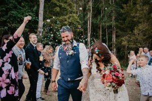 Melanie & Cameron - Married xx Gold Coast Farm House, Numinbah Valley  23