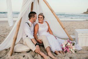 Courtney & Hayden Married xx Burleigh Heads beach- Gold Coast xx  174
