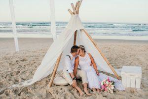Courtney & Hayden Married xx Burleigh Heads beach- Gold Coast xx  175