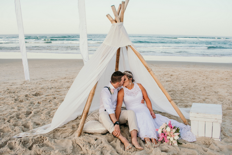 Courtney & Hayden Married xx Burleigh Heads beach- Gold Coast xx  175