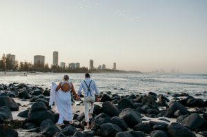 Courtney & Hayden Married xx Burleigh Heads beach- Gold Coast xx  179