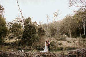 Melanie & Cameron - Married xx Gold Coast Farm House, Numinbah Valley  33