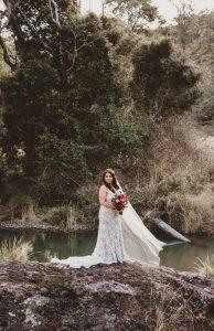Melanie & Cameron - Married xx Gold Coast Farm House, Numinbah Valley  34