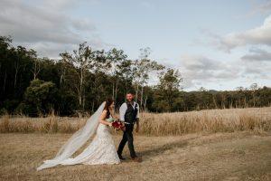 Melanie & Cameron - Married xx Gold Coast Farm House, Numinbah Valley  36