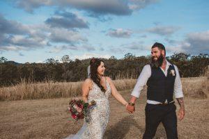 Melanie & Cameron - Married xx Gold Coast Farm House, Numinbah Valley  38