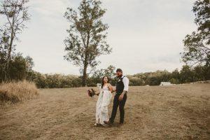 Melanie & Cameron - Married xx Gold Coast Farm House, Numinbah Valley  42