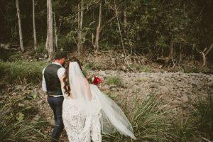 Melanie & Cameron - Married xx Gold Coast Farm House, Numinbah Valley  43