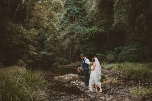Melanie & Cameron - Married xx Gold Coast Farm House, Numinbah Valley  44
