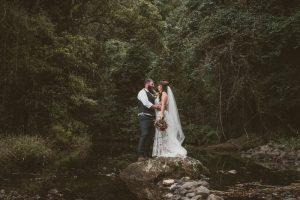Melanie & Cameron - Married xx Gold Coast Farm House, Numinbah Valley  45