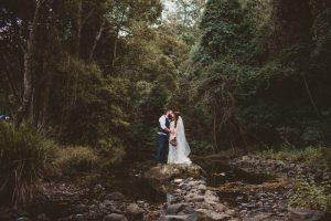 Melanie & Cameron - Married xx Gold Coast Farm House, Numinbah Valley  73