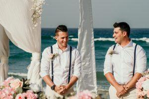 Courtney & Hayden Married xx Burleigh Heads beach- Gold Coast xx  41