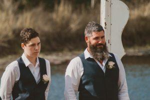 Melanie & Cameron - Married xx Gold Coast Farm House, Numinbah Valley  95