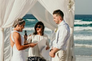 Courtney & Hayden Married xx Burleigh Heads beach- Gold Coast xx  45