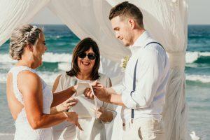 Courtney & Hayden Married xx Burleigh Heads beach- Gold Coast xx  46