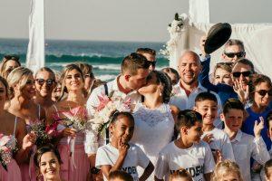 Courtney & Hayden Married xx Burleigh Heads beach- Gold Coast xx  49