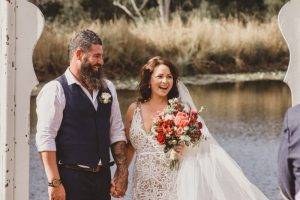 Melanie & Cameron - Married xx Gold Coast Farm House, Numinbah Valley  110