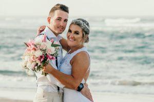 Courtney & Hayden Married xx Burleigh Heads beach- Gold Coast xx  60