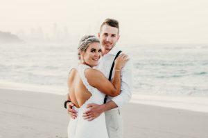 Courtney & Hayden Married xx Burleigh Heads beach- Gold Coast xx  63