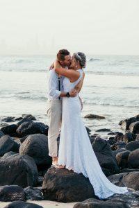 Courtney & Hayden Married xx Burleigh Heads beach- Gold Coast xx  65
