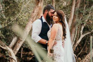 Melanie & Cameron - Married xx Gold Coast Farm House, Numinbah Valley  155