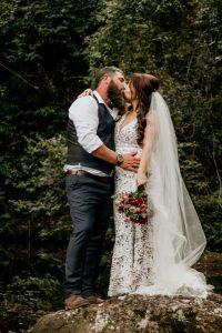 Melanie & Cameron - Married xx Gold Coast Farm House, Numinbah Valley  156