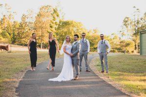Danielle & Chris xx Married - Bundaleer Rainforest Gardens, Brisbane  94