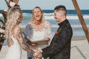 Katie & Raphael- Married xx North Burleigh beach elopement xx  106