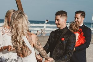 Katie & Raphael- Married xx North Burleigh beach elopement xx  109