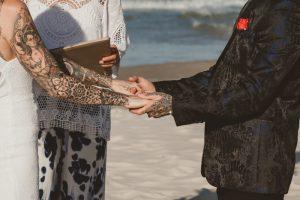 Katie & Raphael- Married xx North Burleigh beach elopement xx  110