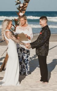 Katie & Raphael- Married xx North Burleigh beach elopement xx  111