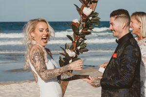 Katie & Raphael- Married xx North Burleigh beach elopement xx  114