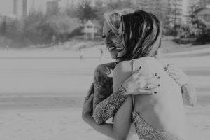 Katie & Raphael- Married xx North Burleigh beach elopement xx  116