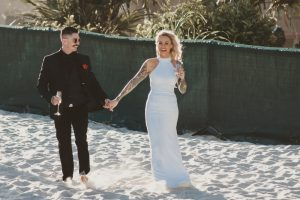 Katie & Raphael- Married xx North Burleigh beach elopement xx  118