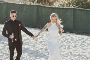 Katie & Raphael- Married xx North Burleigh beach elopement xx  119