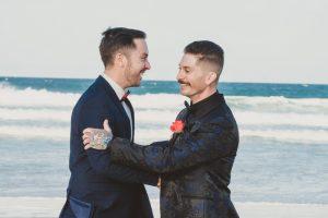 Katie & Raphael- Married xx North Burleigh beach elopement xx  121