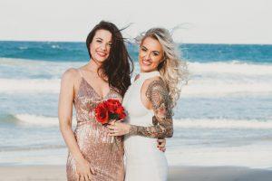 Katie & Raphael- Married xx North Burleigh beach elopement xx  124