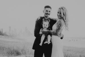 Katie & Raphael- Married xx North Burleigh beach elopement xx  143