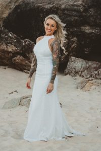 Katie & Raphael- Married xx North Burleigh beach elopement xx  1