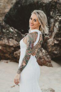 Katie & Raphael- Married xx North Burleigh beach elopement xx  3