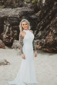 Katie & Raphael- Married xx North Burleigh beach elopement xx  5