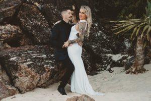 Katie & Raphael- Married xx North Burleigh beach elopement xx  7